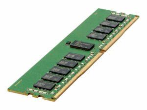 HPE Standard Memory - DDR4 - module - 16 GB - DIMM 288-pin - 2666 MHz / PC4-21300 - CL19 - 1.2 V - unbuffered - ECC