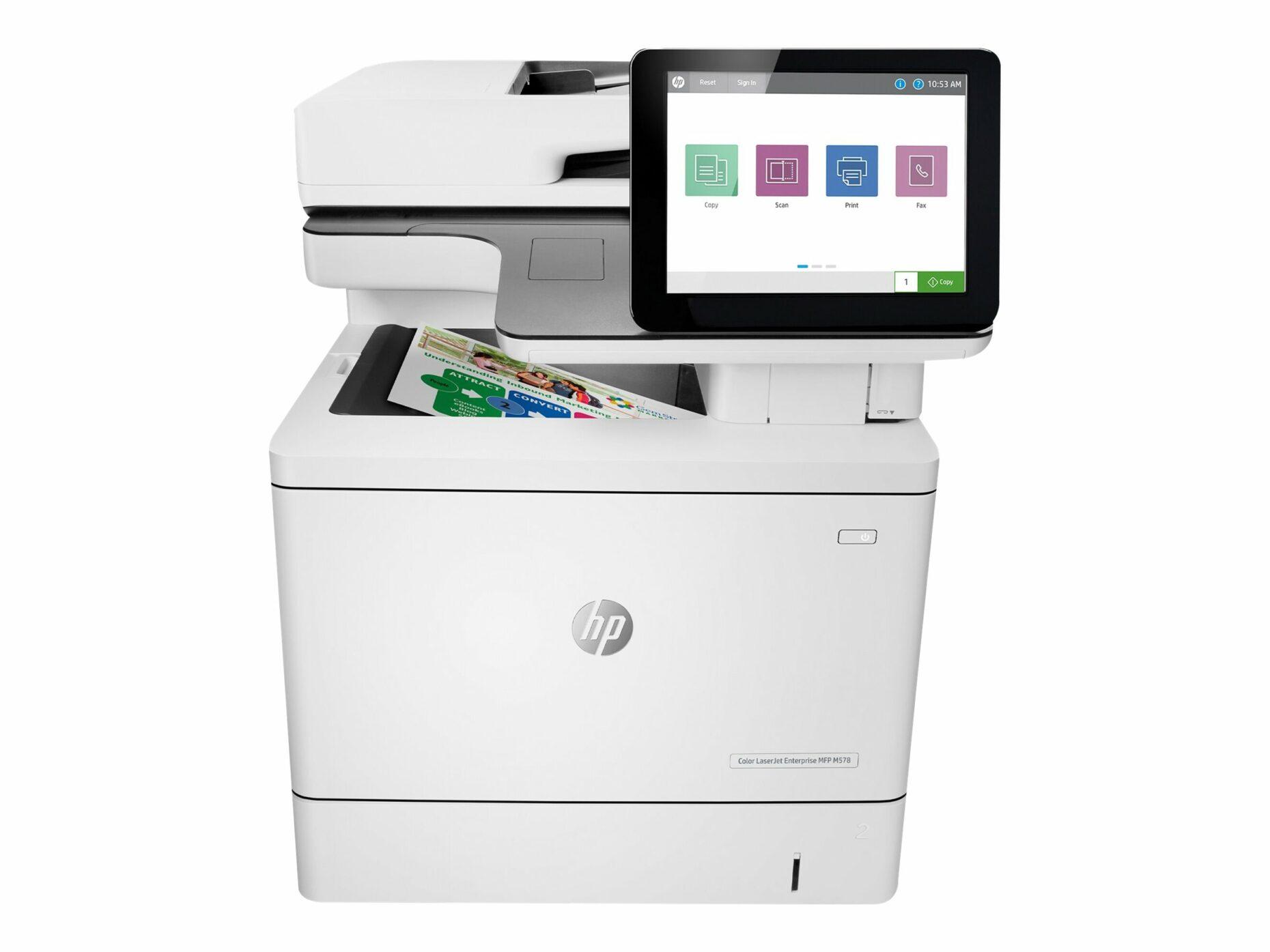 HP LaserJet Enterprise M578f - Multifunction - Color - Laser Printer