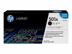 HP 501A Black Original LaserJet Toner Cartridge