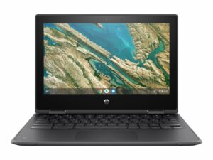 "HP Chromebook 11 G3 - Education Edition - flip design - Celeron N4020 / 1.1 GHz - 4 GB RAM - 32 GB eMMC - 11.6"" Touchscreen (HD) - Chromebook"