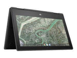 "HP Chromebook 11 G3 - Education Edition - flip design - MT8183 / 2 GHz - 4 GB RAM - 32 GB eMMC - 11.6"" Touchscreen (HD) - Chromebook"