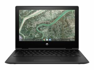 "HP Chromebook 11MK G3 - Education Edition - flip design MT8183 / 2 GHz - 4 GB RAM - 32 GB eMMC - 11.6"" Touchscreen (HD) - Chromebook"